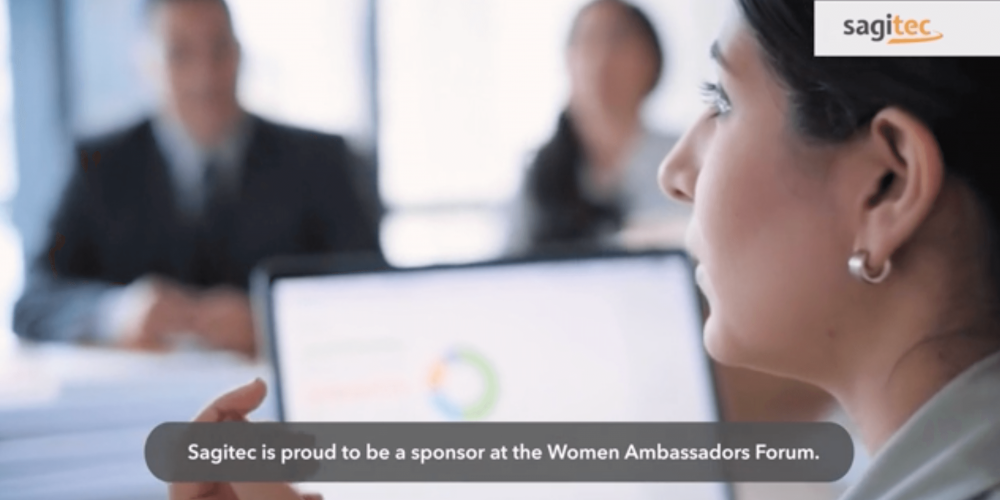 SAGITEC IS PROUD TO BE A SPONSOR AT THE WOMEN AMBASSADORS FORUM